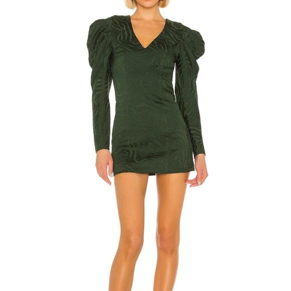 Emerald House of Harlow 1960 x REVOLVE Rhys Dress